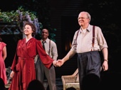 All My Sons stars Annette Bening and Tracy Letts thank the audience.