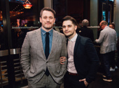 King Lear's Michael Arden with husband Andy Mientus.