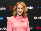Two-time Tony winner Katie Finneran attends opening night of Tootsie.