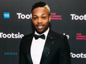 Broadway alum Todrick Hall looks sharp.