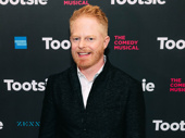 Stage and screen star Jesse Tyler Ferguson attends opening night of Tootsie.