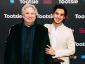 Harvey Fierstein attends Tootsie's Broadway opening with Michael Rosen, who appeared in the 2018 revival of Torch Song.