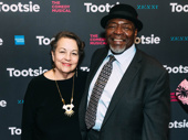 Deborah Brevoort and Tony winner Chuck Cooper celebrate their daughter, Tootsie star Lilli Cooper.