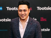 Upcoming In the Heights film director Jon M. Chu arrives.