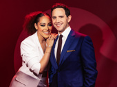 Tootsie stars Lilli Cooper and Santino Fontana get together.