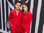 Former Dear Evan Hansen star Taylor Trench and actor Kayla Foster match.