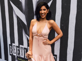 Upcoming In the Heights movie star Stephanie Beatriz hits the red carpet.