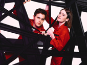 Taylor Trensch and and Kayla Foster