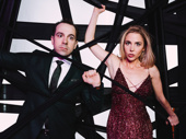 Beetlejuice's Rob McClure and Kerry Butler play Adam and Barbara, respectively.