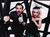 Beetlejuice's Alex Brightman and Sophia Anne Caruso play Beetlejuice and Lydia, respectively.