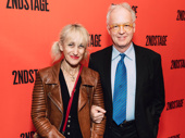 Acting couple Constance Shulman and Reed Birney.