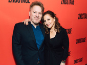 Comedy couple Dan Finnerty and Kathy Najimy.