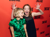 To Kill a Mockingbird's Celia Keenan-Bolger gets photo-bombed by the best:  Julie White.