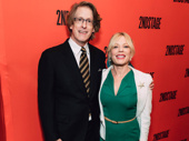 Everyday Rapture's book writer Dick Scanlan with star Sherie Rene Scott.