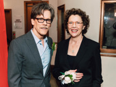 Stage and screen star Kevin Bacon with All My Sons Tony nominee Annette Bening.