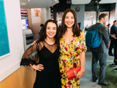 Usual Girls' Outstanding Actress in a Play nominee Midori Francis and playwright Ming Peiffer, who is nominated for Outstanding Play.