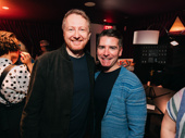 The Prom co-book writer Bob Martin with co-book writer and lyricist Chad Beguelin.