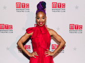 Choir Boy's Tony-nominated choreographer Camille A. Brown stuns in red.