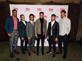 Choir Boy's John Clay III, Jonathan Burke, Marcus Gladney, Jeremy Pope, Nicholas Ashe, Caleb Eberhardt represent the show.