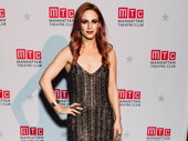 The Cher Show's Teal Wicks sparkles.