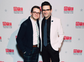 Be More Chill star Will Roland with composer Joe Iconis.