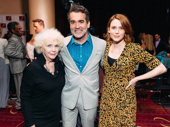 The Ferryman Tony nominee Fionnula Flanagan and stars Brian D'Arcy James and Holley Fain get together.