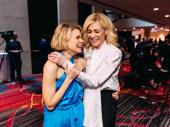To Kill a Mockingbird Tony nominee Celia Keenan-Bolger shares a laugh with Judith Light.