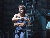 Audra McDonald as Frankie and Michael Shannon as Johnny in Frankie and Johnny