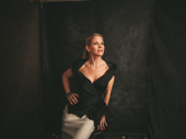 Kiss, Me Kate nominee Kelli O'Hara strikes a pose.