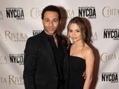 Kiss Me, Kate Chita Rivera Award nominee Corbin Bleu steps out with his wife Sasha Clements.