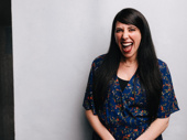 Hadestown's Tony-nominated director Rachel Chavkin is all smiles.
