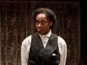Kristolyn Lloyd as Jo March in Little Women.