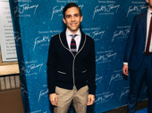 Playwright Matthew Lopez hits the red carpet.