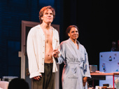 Bravo! Frankie and Johnny in the Clair de Lune stars Michael Shannon and Audra Macdonald take their curtain call.