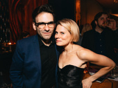 Be More Chill composer Joe Iconis with Favorite Featured Actress in a Play winner Celia Keenan-Bolger.