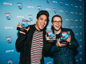 Be More Chill's George Salazar and Will Roland took home trophies for Favorite Onstage Pair.