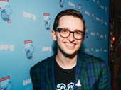 Be More Chill star Will Roland poses for a pic.
