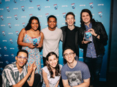 The cast of Dear Evan Hansen get together for the show's wins for Favorite Long-Running Show and Favorite Tour.