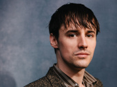 """Hadestown star Reeve Carney accepts the award for Favorite New Song: his show-stopping number, """"Wait for Me."""""""