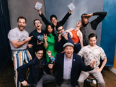 Congrats to Be More Chill's Broadway fam! Cameron Bond, Will Roland, Troy Iwata, Stephanie Hsu, George Salazar, composer/lyricist Joe Iconis, Jason SweetTooth Williams, Katlyn Carlson, Britton Smith and Jason Tam celebrate the show's Broadway.com Audience Choice Award for Favorite New Musical.