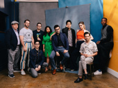 Congrats to Be More Chill's Broadway fam! Jason SweetTooth Williams, Cameron Bond, Troy Iwata, Will Roland, Stephanie Hsu, songwriter Joe Iconis, George Salazar, Katlyn Carlson, Jason Tam and Britton Smith celebrate the show's Broadway.com Audience Choice Award win for Favorite New Musical.