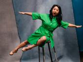 Be More Chill Broadway.com Audience Choice Award winner Stephanie Hsu strikes a pose.