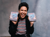 Be More Chill's George Salazar received two Broadway.com Audience Choice Awards: one for Favorite Featured Actor in a Musical and one for Favorite Onstage Pair with Will Roland.