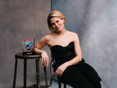 To Kill a Mockingbird's Celia Keenan-Bolger with her Broadway.com Audience Choice Award for Favorite Featured Actress in a Play.