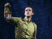 Jake Boyd as Fiyero in Wicked.