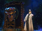 Michael McCormick as The Wizard in Wicked.