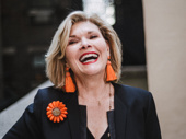 Tony winner Debra Monk flashes a smile.