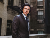 Burn This Tony nominee Adam Driver suits up.