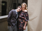 What the Constitution Means to Me's Tony-nominated scribe and star Heidi Schreck is all smiles with her husband Kip Fagan.