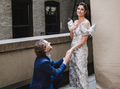 Theater couple Sebastian Arcelus‎ and Stephanie J. Block snap a sweet pic.